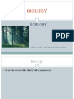 CSEC BIOLOGY- Ecological studies