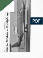 IAI Astra Business Jet