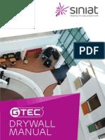 Siniat Drywall Manual GBCC01 0912sm