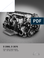Diesel Engines for Vehicles D2066 D2676