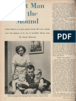 """Quiet Man on the Mound,"" Presbyterian Life. May 28, 1955."