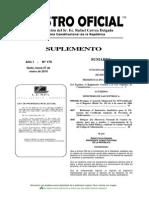 Reglamento General a la Ley Orgánica de Comunicación de Ecuador, publicado en el Registro Oficial