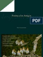 Borges - Poema a Los Amigos +(1)