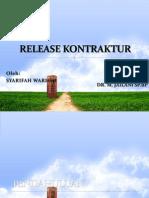 Release Kontraktur Ppt