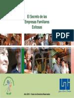 El Secreto de Las Empresas Familiares Exitosas