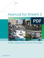 Manual for Streets-Wider Applications
