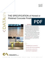 HonThe Specification of Honed or