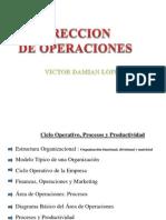 Direccion de Operaciones
