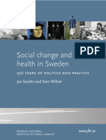 Social Change and Health in Sweden