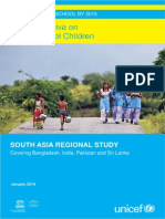 Global Initiative on Out-of-School Children - SOUTH ASIA REGIONAL STUDY