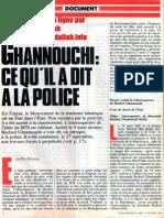 Intervew Rached Ghannouchi Octobre 1987
