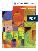 Salaam Monash -- Arabic