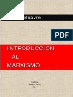 Lefebvre Marxismo