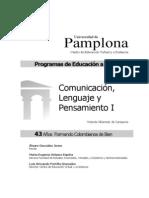 Comunicacion Lenguaje y Pensamiento i