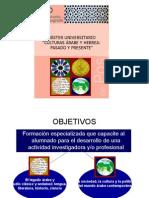 Presentación de Máster del Departamento (Juan Antonio Macias Amoretti)