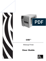Zebra S4M User Guide