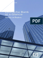 Deutche Bank Doc 1- Deutsche Bank at a Glance