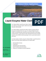 Clarifier Liquid Enzyme