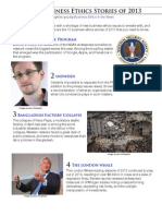 Top Business Ethics Stories of 2013