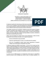 LA    MASONERÍA LIBERAL ESPAÑOLA RECHAZA LA REFORMA DE LA LEY DEL ABORTO