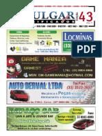 Jornal Divulgar Classificados - Ano IV - Edição 43