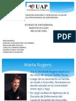 Teorias de Imogene King y Martha Rogers
