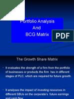 Portfolio Analysis BCG