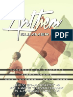 Anthem Summer Camp Registration Form