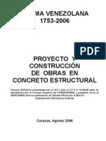 COVENIN-1753-2006_Proyecto_y_contruccion_de_obras_en_concreto