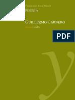 CARNERO, Guillermo Una poética innecesaria (antologia)