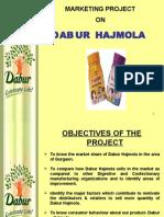 Marketing Project on Dabur Hajmola