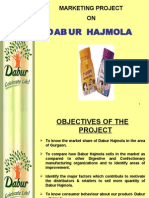 Marketing Project on Dabur Hajmola