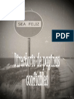 Directorio de Paginas Confiables