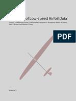 Low Speed Airfoil Data V5 SELIG