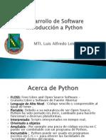 Desarrollo de Softare Introduccion a Python