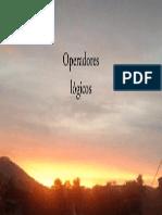 Operadores logicos