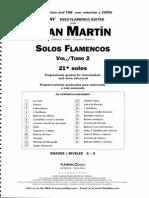 Juan Martin - Solos Flamencos - Vol.2 Grade 6