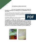 Sistemtizacion y Analisis de La Observacion