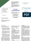 trifold brochure familypromise