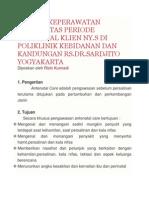 Asuhan Keperawatan Maternitas Periode Antenatal Klien Ny