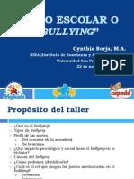 Acoso Escolar o Bullying(Cynthia Borja)