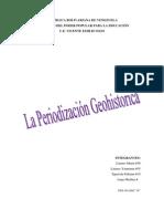 La Periodizacion Geohistorica