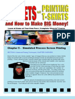 SOPT Simulated Process Printing - Chapter Summary - Full Color Printing