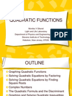 Quadratic Functions ppt