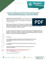 Boletin de Prensa Forma. Complementaria Enero 2014
