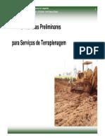 UFBA - Aula 08 - Providências preliminares de terraplenagem