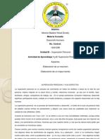 Desarrollo Humano Moreno Yohali Actividad 1 2 Unidad III