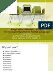 FLANC 09 Presentation Technology Integration