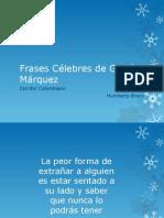 Frases Célebres de García Márquez