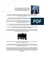 Comunicación organizacional (apuntes)